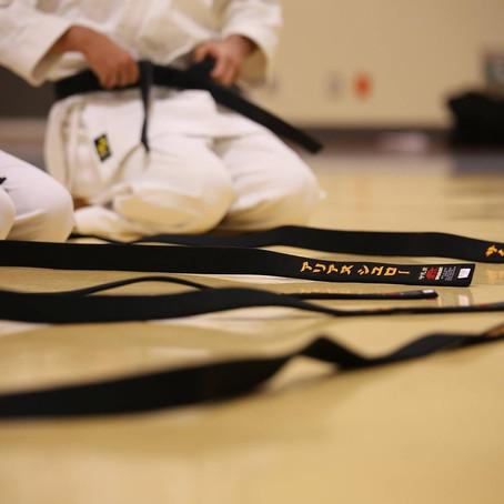 Llegó el gran día… cómo elegir tu cinturón negro