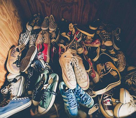 Organiza tus zapatos de manera original