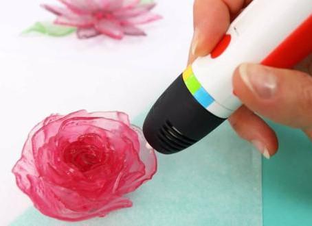 Este lápiz es real, imprime dulces y caramelos