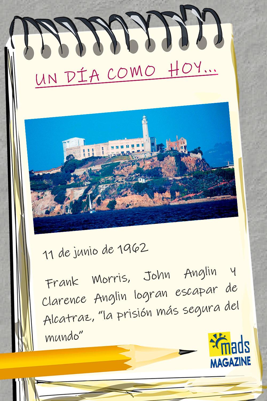 La prisión de Alcatrz era la más segura del mundo. ¡Nadie habría imaginado que fuera posible escapar y sobrevivir al intento! Pero ellos lo lograron