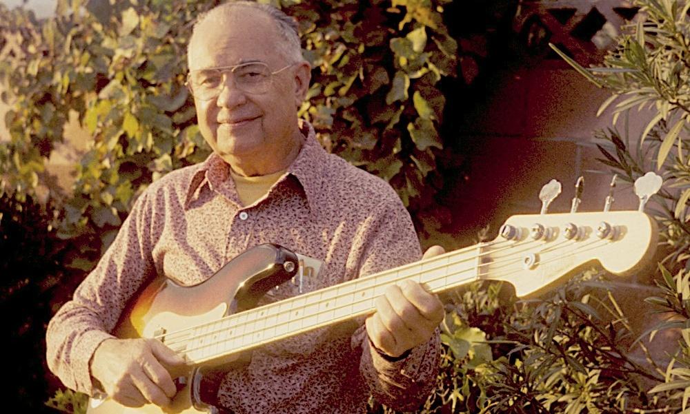 Leo Fender es el creador de las mejores guitarras del mundo