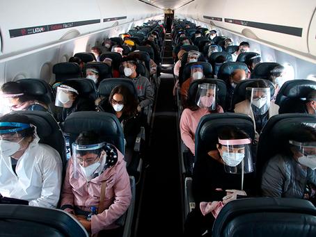 Viajando en época de pandemia