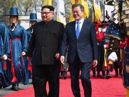 Kim Jong-un y Moon Jae-in, se comprometen a un mejor mañana