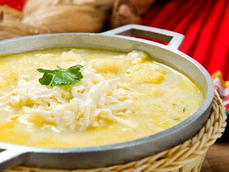 Sopa de queso y papa de Chepina