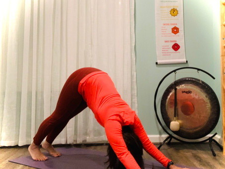 Yoga is for inflexible people like me!