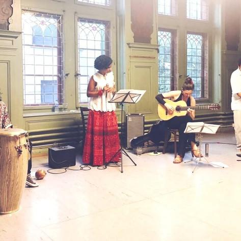First concert with Lagarzamora Ensamble.