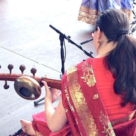 Accompanying Kathak Dancers.