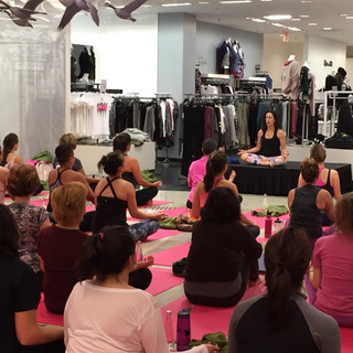 Fundraiser for Breast Cancer Awareness Month at Bloomingdale's