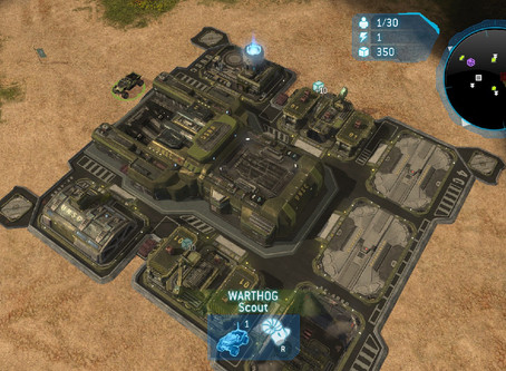 Bases in Halo Wars