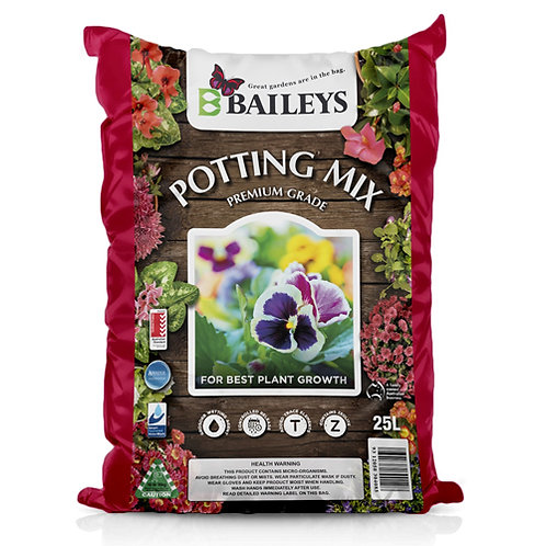 Baileys Premium Potting Mix 25L