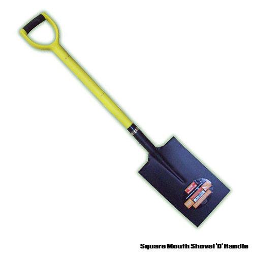 Square Mouth Shovel 'D' Handle