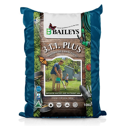Baileys 3.1.1. Plus Lawn Fertiliser 10kg