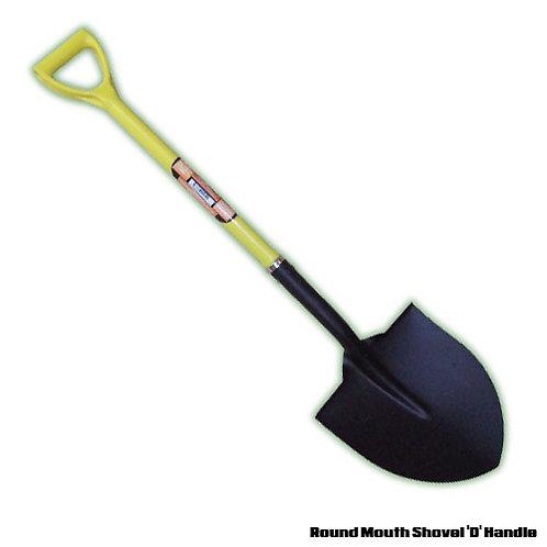 Round Mouth Shovel 'D' Handle