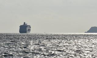 A cruiser in Torbay
