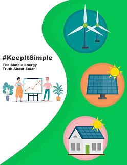#keepitsimple ebook cover simple energy.