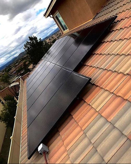 Simple Energy 15 Solar Panel System