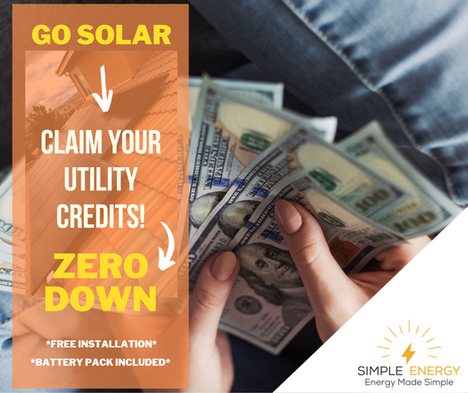 Claim Your Utility Credits - Go Solar Ad