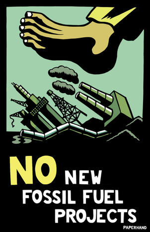 No New Fossil Fuel Projects 2