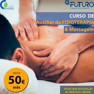 Auxiliar de Fisioterapia e Massagem