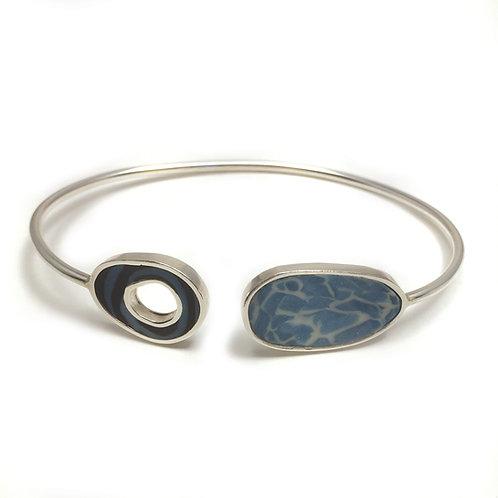 Two Medium Ovals bracelet