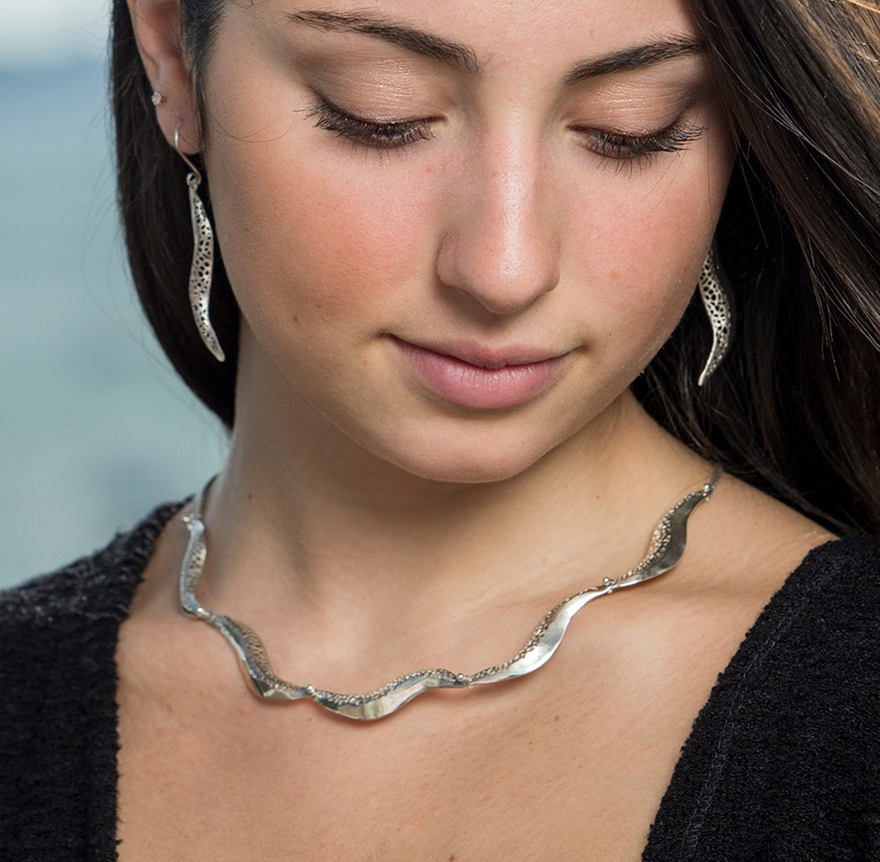 five wave necklace water collection