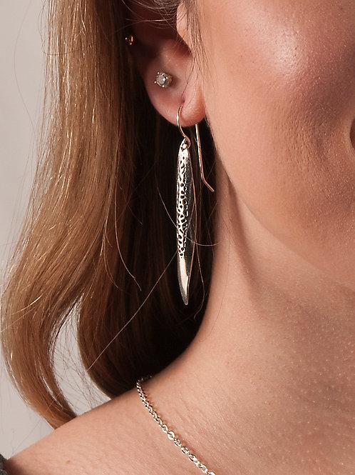 Drop Wave Earrings