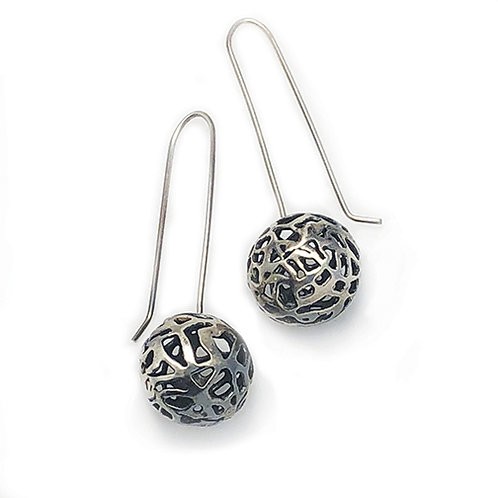 Pierced Ball long wires