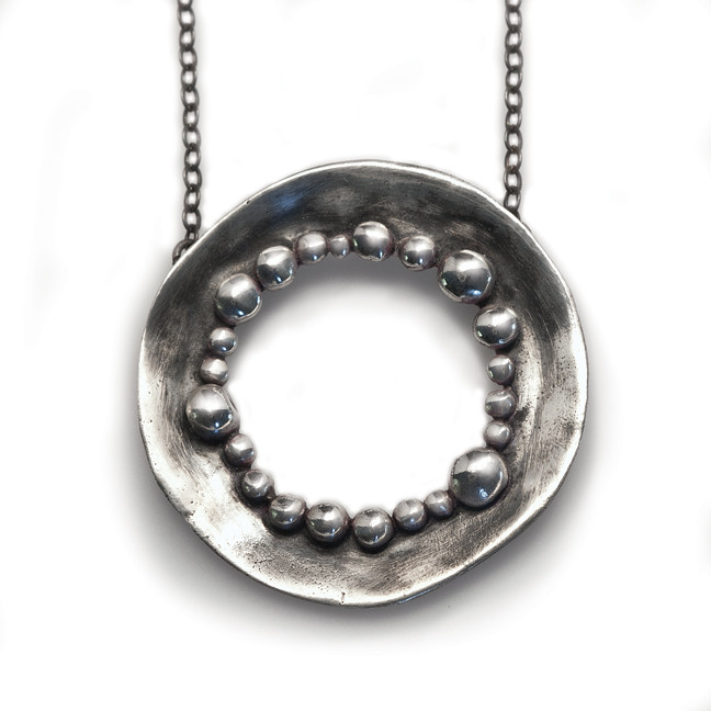 water collection pendant circle of bubbles