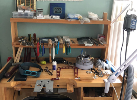 Studio visit — come on in...