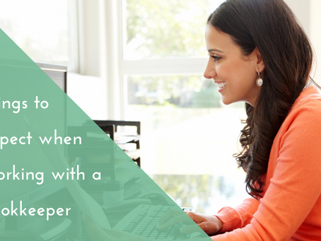 3 things to expect when working with a bookkeeper