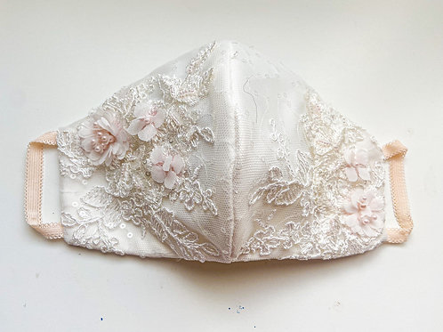 Custom Wedding Dress Face Mask Bride Groom Bridesmaid Maid of Honor Maria Theresa Bridal Canada US