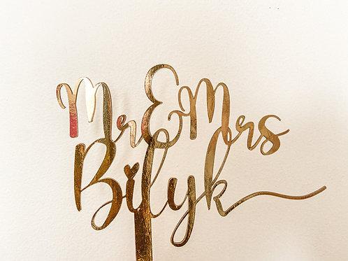 Personalized Custom Wedding Cake Topper Bride Groom Maria Theresa Bridal Canada US