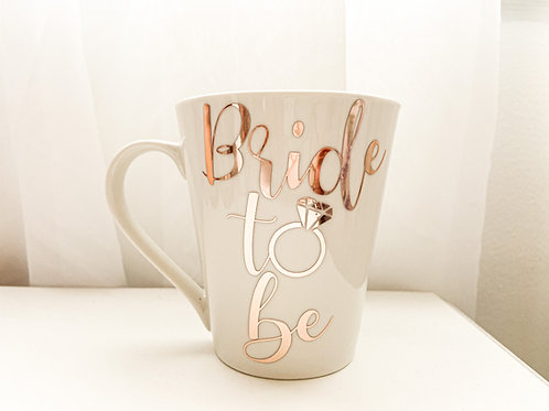 Personalized Custom Monogram Wedding Ceramic Mug Bride Groom Maria Theresa Bridal Canada US