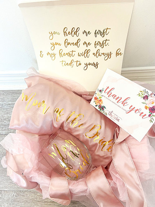 Mother of the Bride / Groom Gift Set