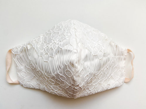 Bride Mask with Lace