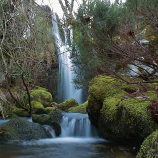 Cascada sedosa.