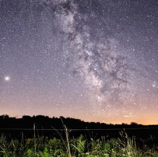 starlight-vía láctea-ourense-galicia-man