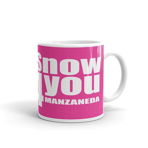 Taza Snow4you Rosa