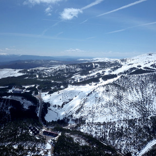 Foto aérea Estación de Montaña de Manzaneda.