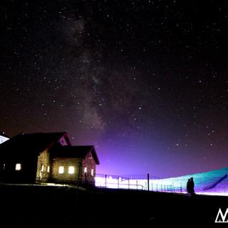 Starlight de colores en Manzaneda
