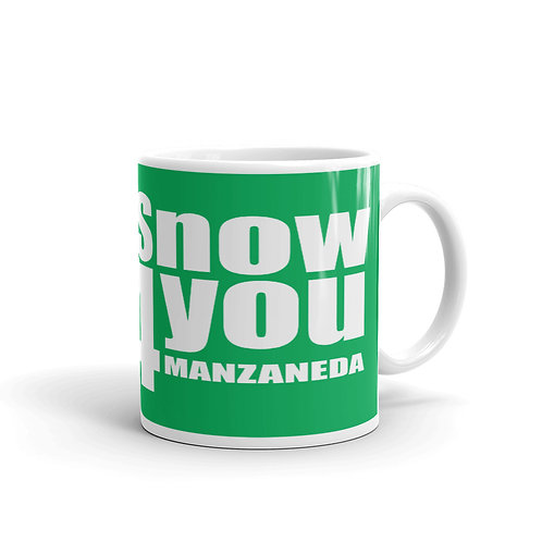 Taza Snow4you Verde