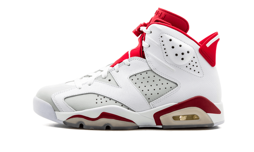 84d98dbe231dbe This Alternate Air Jordan 6 takes inspiration from the classic white home  jersey of the Chicago Bulls. Built around the concept of creating alternate  looks ...
