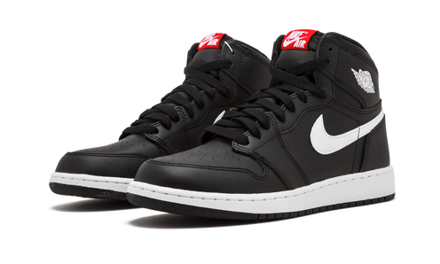 newest 81b8a a03ed Part of the Air Jordan 1 Premium Essentials Pack, this Air Jordan 1  features a premium black leather upper with the white accents landing on  the Swoosh ...