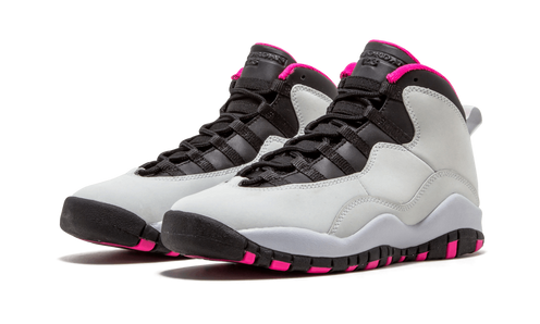 """00f62afdce317d ... Series"""" color block of the Air Jordan 10 but with a feminine twist"""