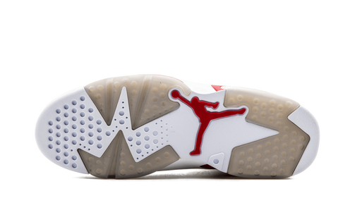 wholesale dealer 0e296 f118d This Alternate Air Jordan 6 takes inspiration from the classic white home  jersey of the Chicago Bulls. Built around the concept of creating alternate  looks ...
