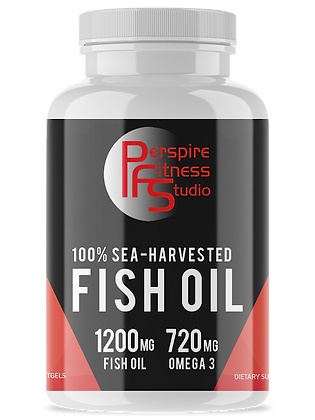 100% Sea-Harvested Fish Oil