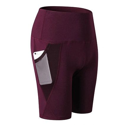 Sportswear Women's Leggings Solid Yoga Shorts