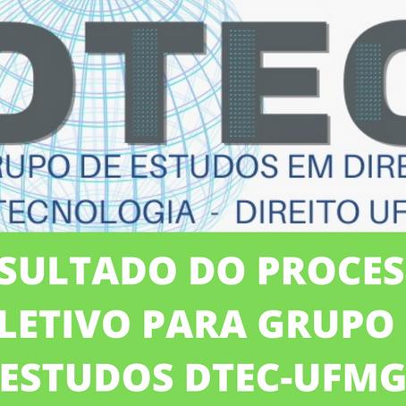 Lista de Aprovados no Grupo de Estudos DTEC 2021-2