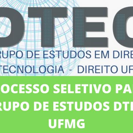 Edital para Seleção de Membros Voluntários do Grupo de Estudos DTEC-UFMG