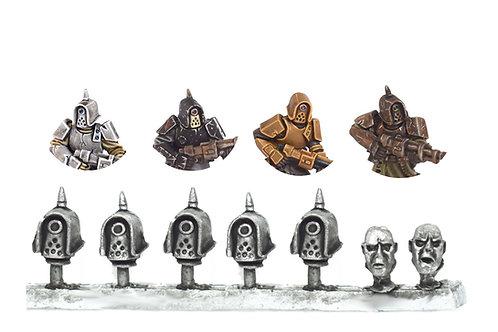 Tox Trooper head sprue